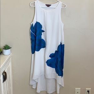 2cdcfdf8ffe2e Anthropologie Dresses - Anthro Ranna Gill Blue Bell Embroidered Dress SZ M
